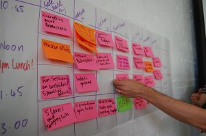 the session grid at localgovcamp 2014